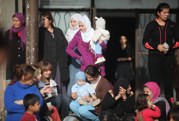 """Центърът в """"Овча купел"""" е приютил много жени и деца."""