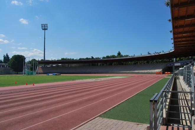 Лекоатлетическият стадион във Флоренция