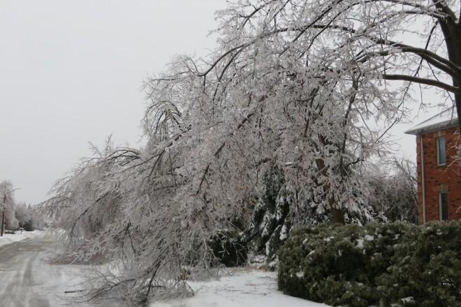 Ледените бури не са рядкост в Канада.