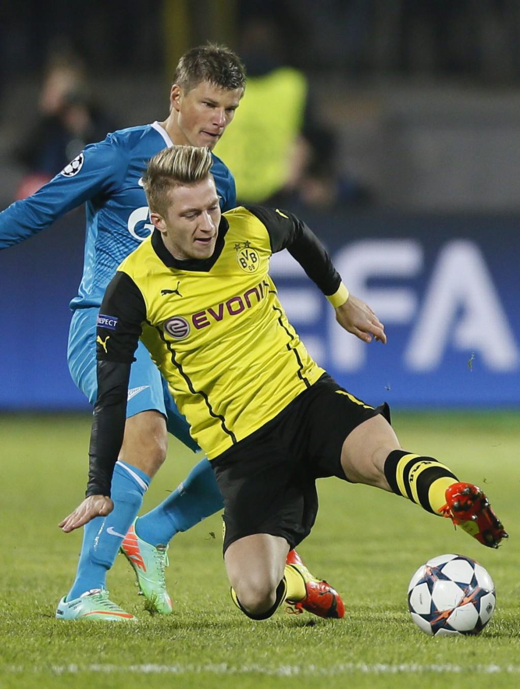 Марко Ройс е в основата на добрите игри на клубния си тим: Борусия (Дортмунд)
