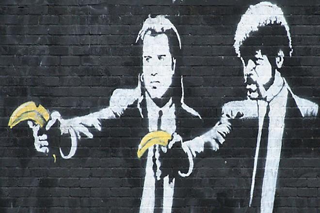 Banksy: Pulp Fiction. Fine Art Print/Poster