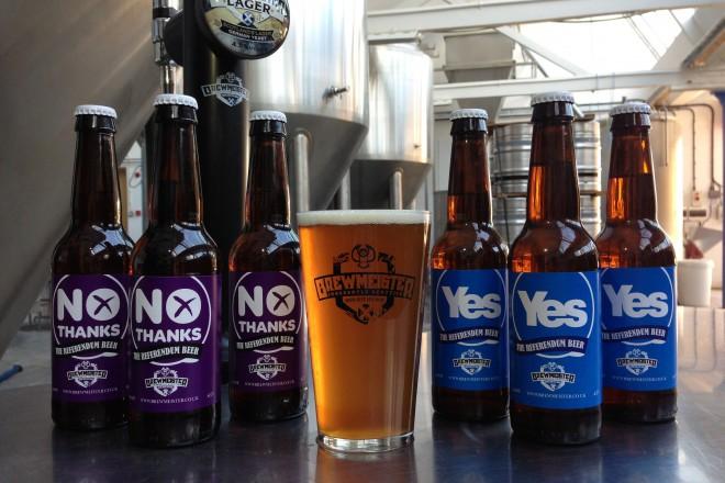 Yes ale - 92%, No lager 8%. Pроблемът в Шотландия е, че 90-95% от хората пият евтин лагер