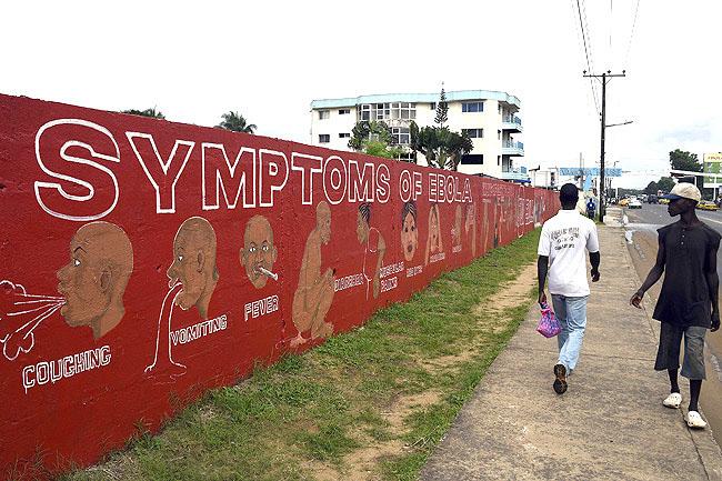 LIBERIA-WAFRICA-HEALTH-EBOLA