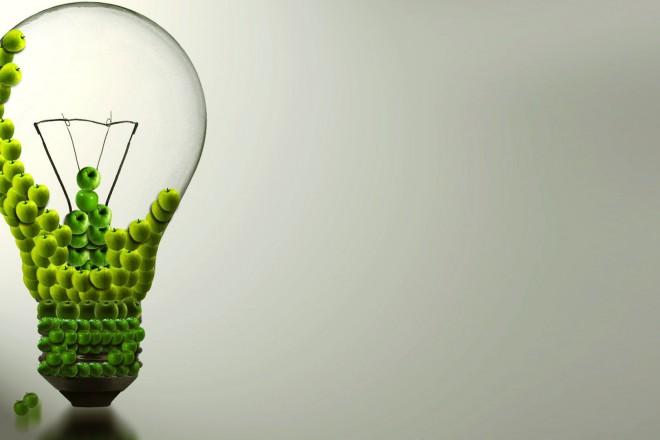 Electricity Mac Bulb Wallpaper