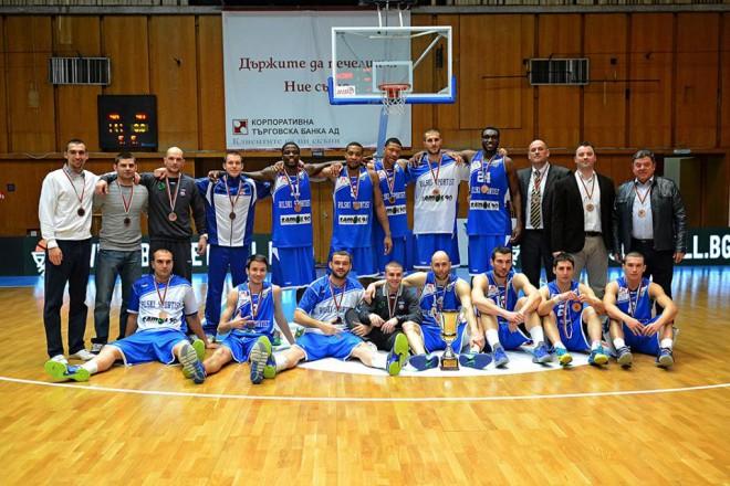 Росен Барчовски заедно с клубния си тим, Рилски спортист