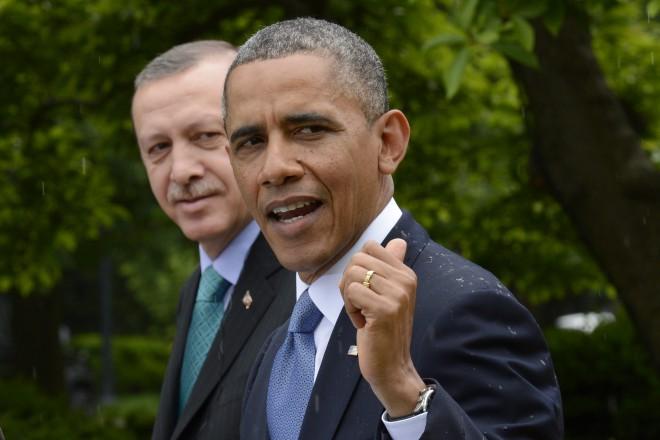 Обама и Ердоган