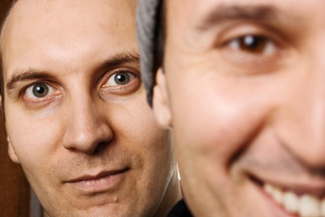 Здравко Григоров (вляво) и Ангел Хаджийски.