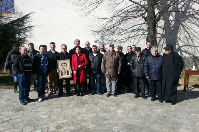 Храбрите българи, които дойдоха на панихидита на Васил Левски в Струмица.