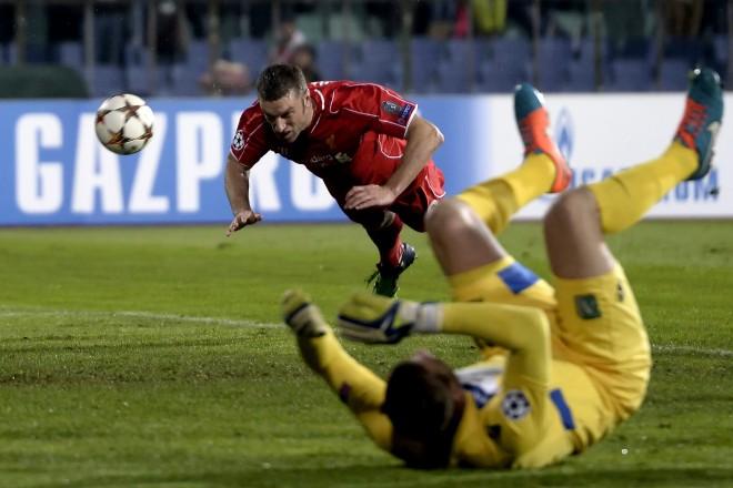 PFC Ludogorets Razgra vs  Liverpool