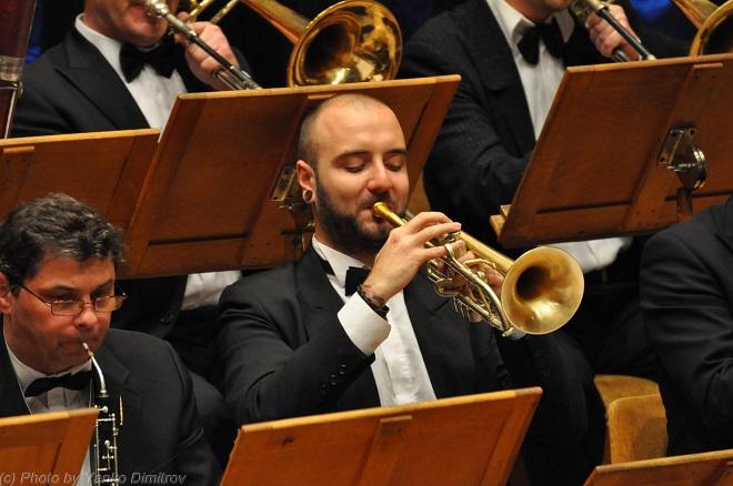 Петър Македонски. Тромпетист в Симфоничния