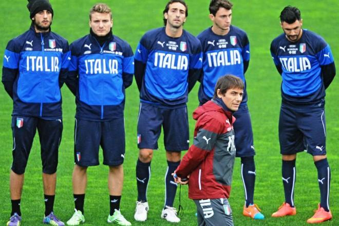 Селекционерът на Италия Антонио Конте се е заел с амбициозната цел да спечели Евро 2016.