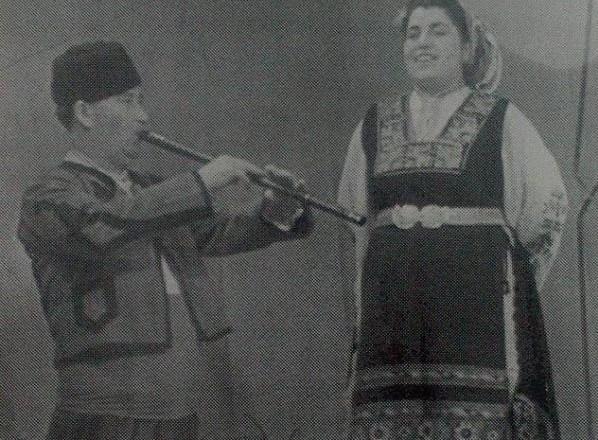 Вълкана Стоянова и Никола Ганчев