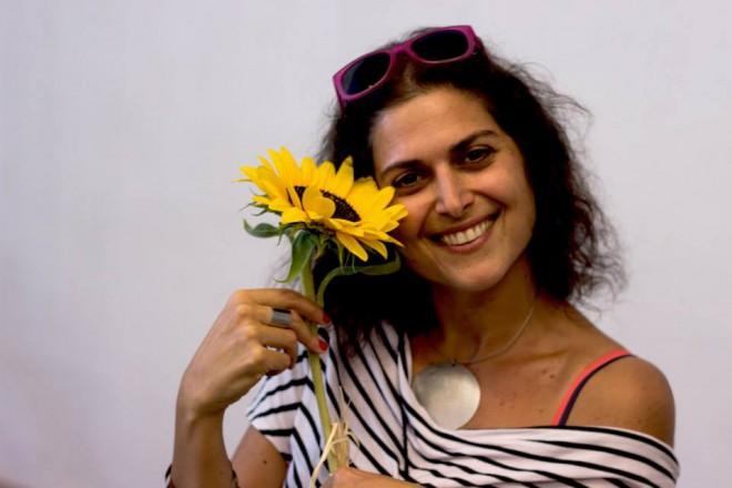 Кристиане Карам по време на семинара в София, 11-12 юли 2015