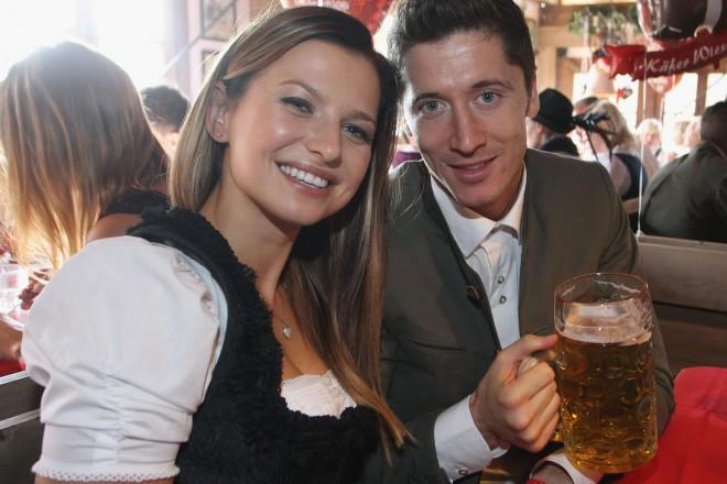 Роберт и Анна по време на традиционния за Мюнхен Октоберфест.