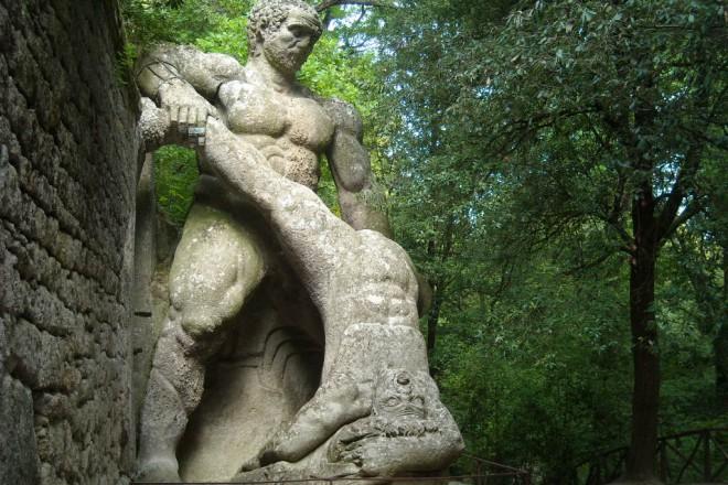Херкулес разчеква гигант