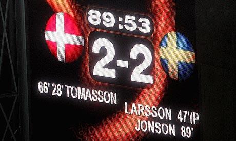 Euro 2004: Denmark v Sweden