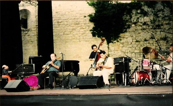 Братята Патручани в Монтелимар с Мишел на пианото