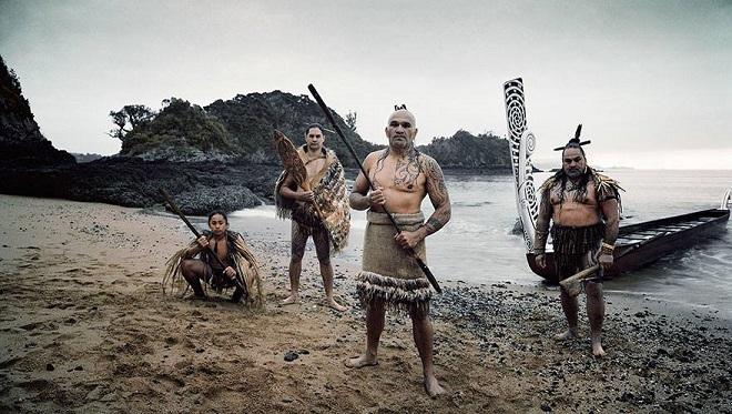Маори, Нова Зеландия.