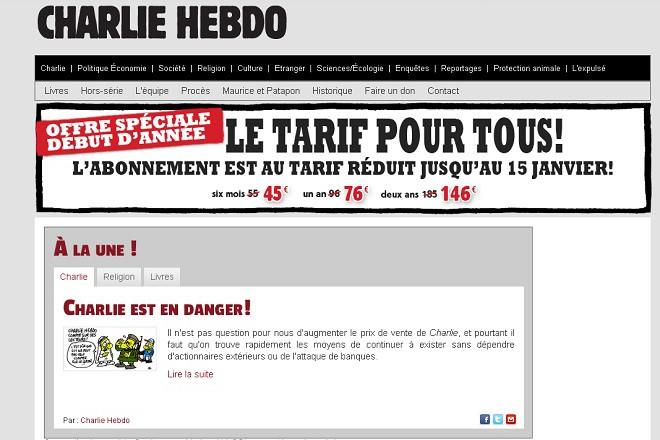 """""""Шарли ебдо"""" - специално предложение"""