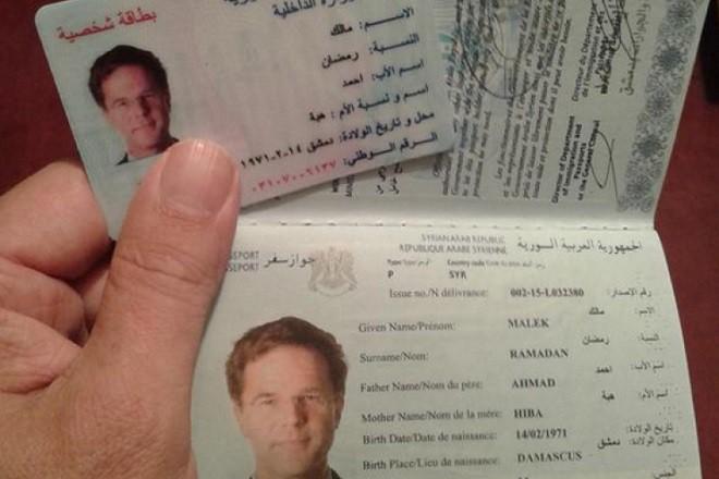 """""""Сирийският паспорт"""" на Марк Рюте"""