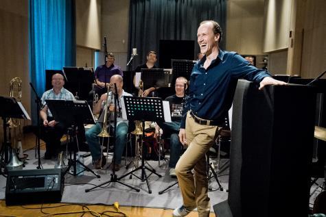 Давид Ленкс с Брюкселския джаз оркестър