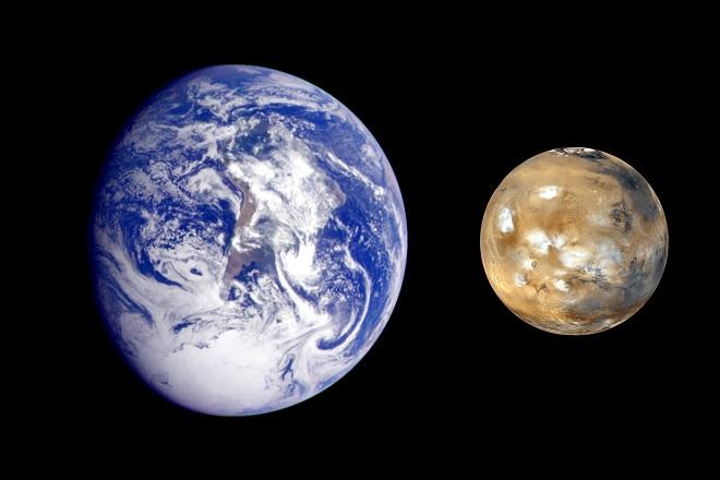 Марс-Земя