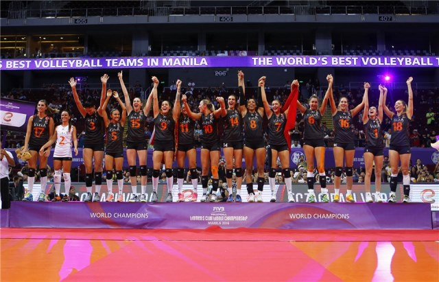 Само преди десетина дни турският отбор спечели световната титла в Манила, Филипините.