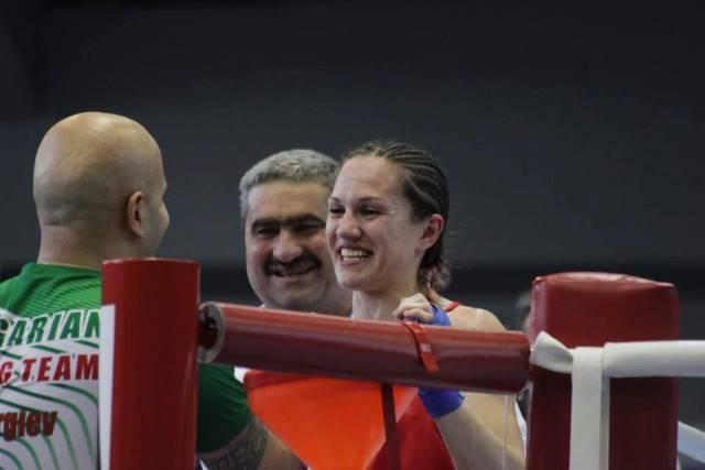 Станимира Петрова - шампионката ни при жените.