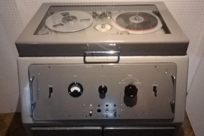 Магнитофонът от студиото Abbey Road, на който са направени първите им записи