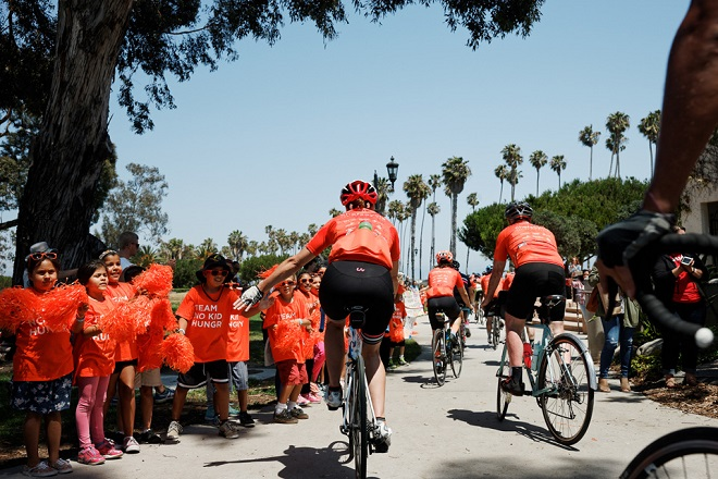 ChefsCycle for No Kid Hungry, Day 3. (Photo by Davey Wilson)