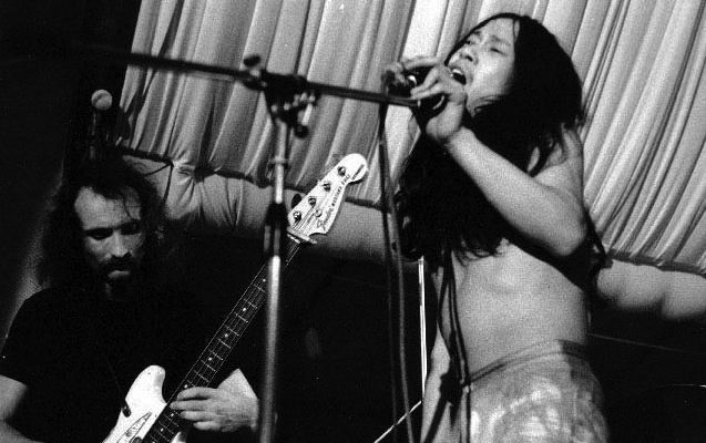 Damo_Suzuki_and_Holger_Czukay_(CAN, 1970s)