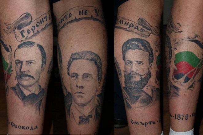 татуировки патриоти