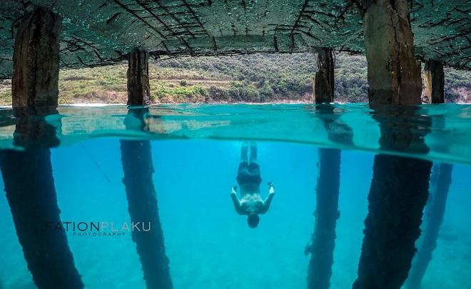 Водите на Йонийско море.
