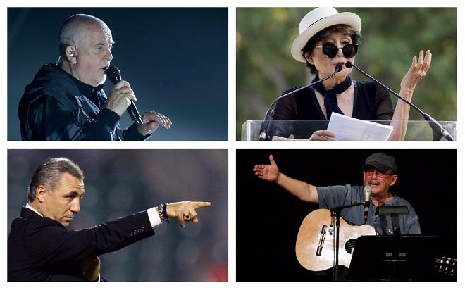 Гейбриъл, Оно, Стоичков, Родригес - отборът на Let Catalans vote