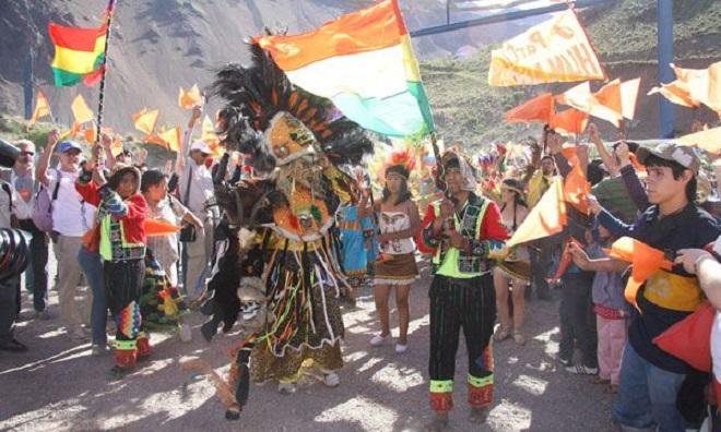 Световният марш за мир 2009 (сн. ЕФЕ)