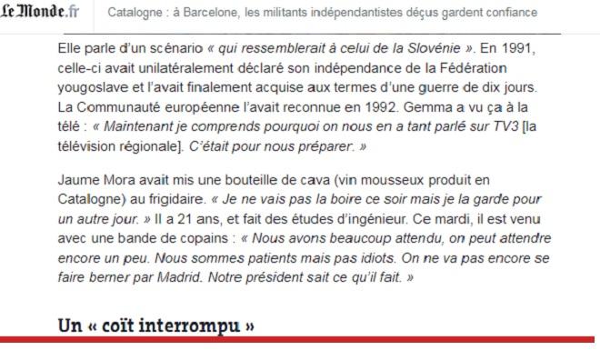 Le Monde 11.10.2017