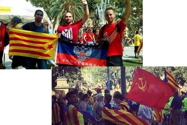 т.н.Донецка република също е солидарна с независима Каталуния