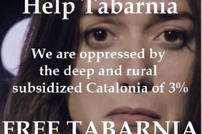 Свобода за Табарния от дълбоката селска субсидирана Каталуния