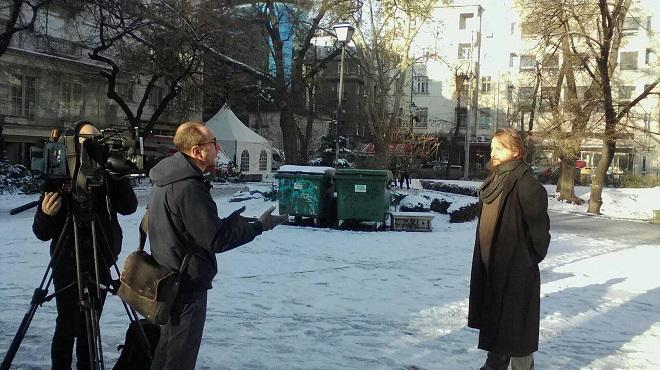 Валери Льоруж с Манол Глишев