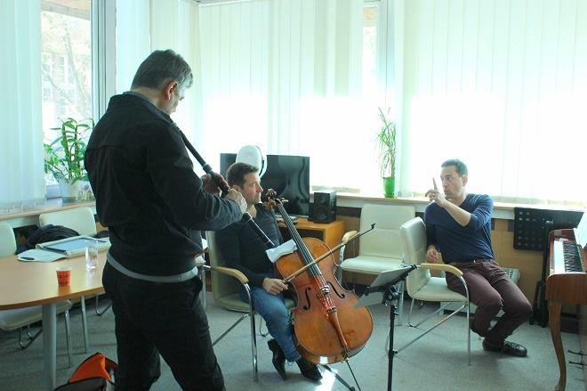 Теодосий, Матиас и Иво в БНР