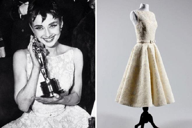 Одри с Оскар за най-добра женска роля в 1954