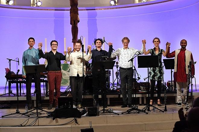 След записа на концерта във WDR - Дюселдорф 2017