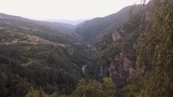 Каньонът на Канина река