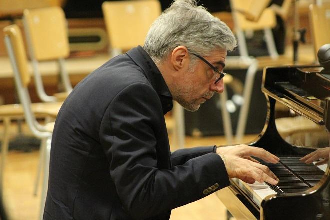 Джовани Мирабаси в Първо студио на БНР