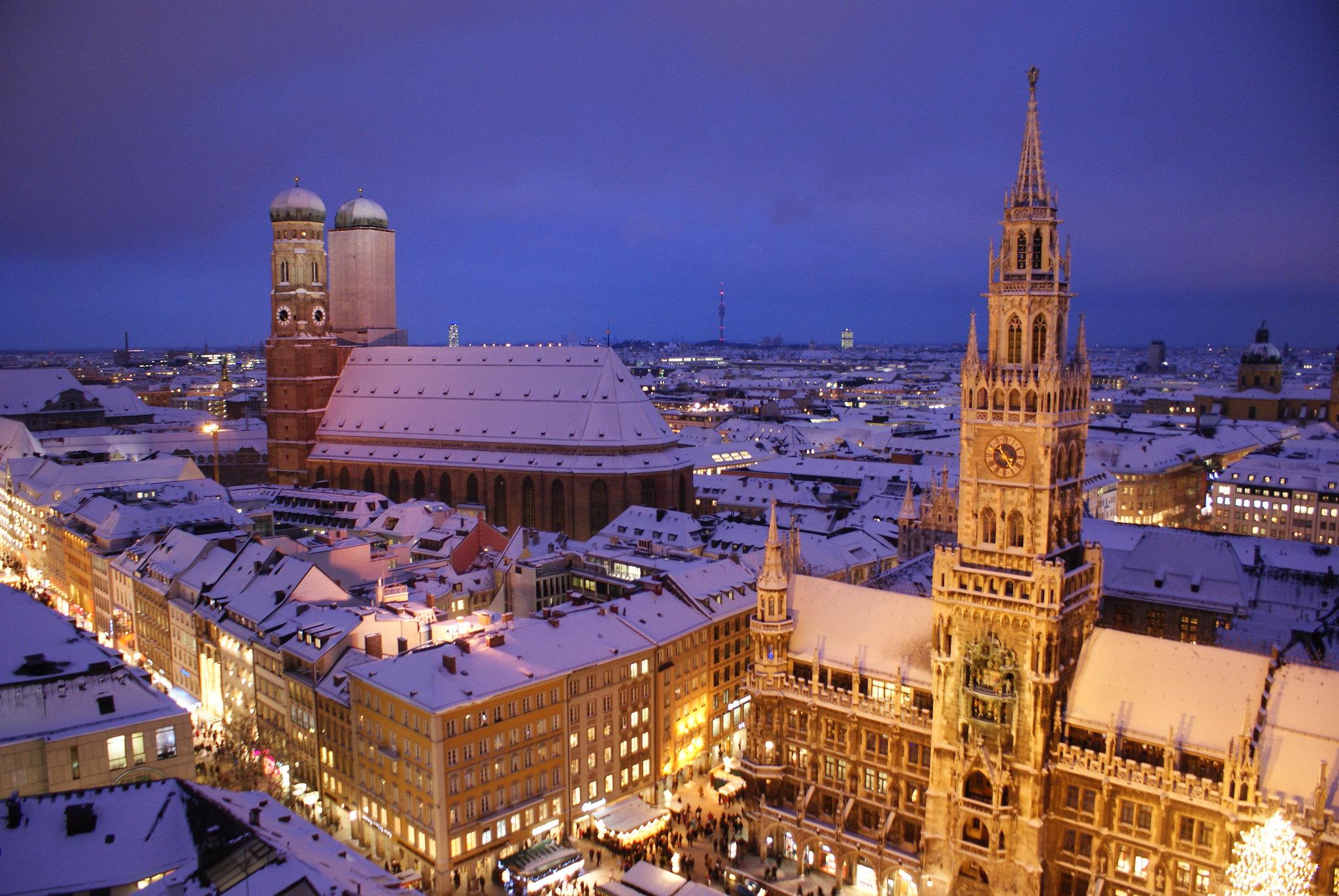 мюнхен город фотографии